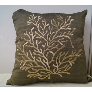 Tree Cushion (Taupe)