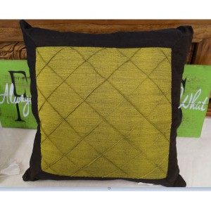 Green and Brown Cushion