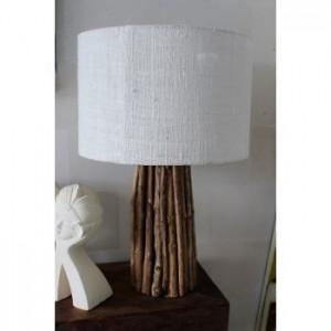Balinese Wood Lamp