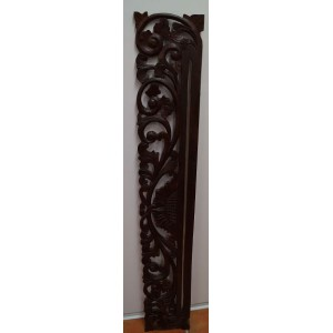 Carved Wall Hanger ( Brown)  - 150 cm