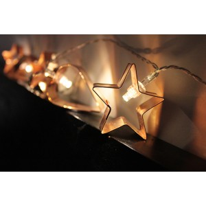 Cookie Cutter String Lights (Batteries Not Included)