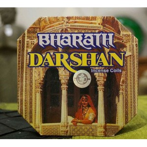 Darshan - Bharath Incense Coils (10 Coils)