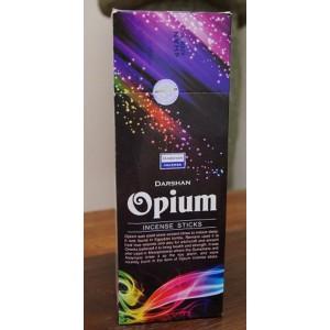 Darshan - Opium Incense Sticks - 120 Sticks (6 Packs of 20 sticks)