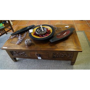 Boat Teak Coffee Table