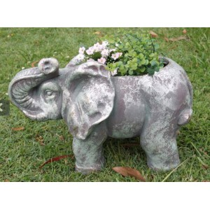 Elephant Garden Pot Holder