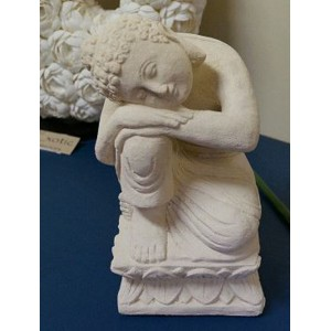 Sleeping Stone Buddha Statue