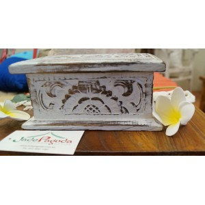 White Wash Jewelry Box