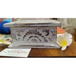 White Wash Jewelry Box