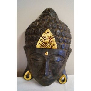 Small Balinese Buddha Mask