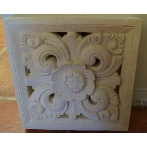 Lime Stone Wall Relief