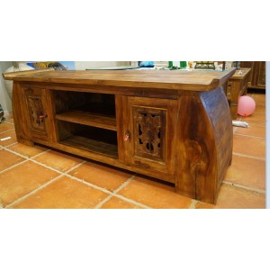 Solid Teak Lowline TV Cabinet - PRICE REDUCED!