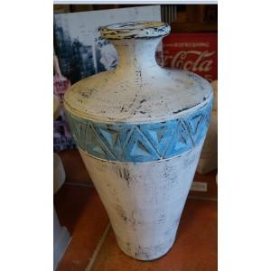 Aztec  Style Ceramic Pot ( 60 cm )