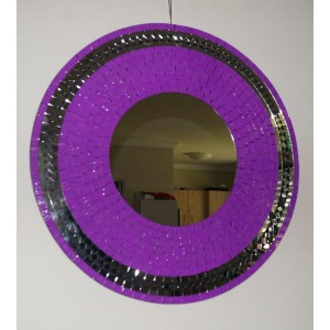 Violet Sparkle Mirror - Mirror Slightly Darker