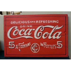 Bali Cola Sign
