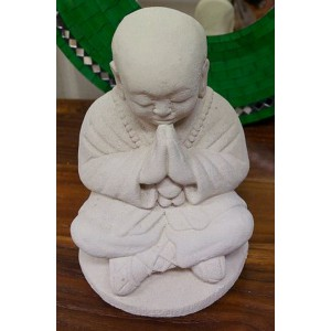 Balinese Praying Buddha  (30 cm Tall)