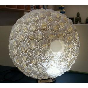 Balinese Shell Lamp ( Doughnut Shape)